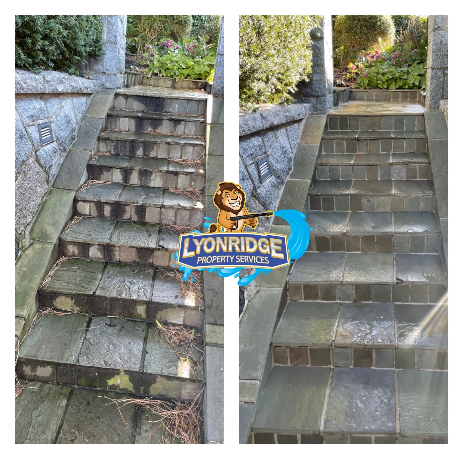 Stair Power Washing Vancouver